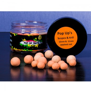 11mm/15mm pop ups Scopex &...